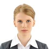 Portrait d'une femme d'affaires Photos stock