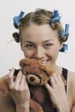 Portrait d'une fille Image stock