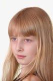 Portrait d'une fille de 10 ans Images libres de droits