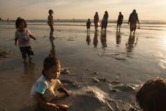 Portrait d'une fille de Thaïlande Photographie stock