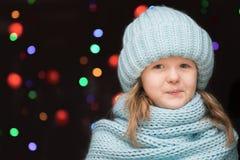 Portrait d'une fille d'enfant Photographie stock libre de droits
