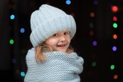 Portrait d'une fille d'enfant Image libre de droits