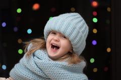 Portrait d'une fille d'enfant Photo stock