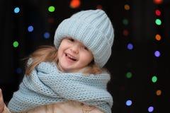 Portrait d'une fille d'enfant Photos stock