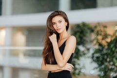 Portrait d'une fille russe photos libres de droits