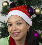 Portrait d'une jeune et heureuse femme Photographie stock libre de droits