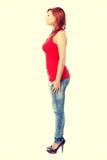 Portrait d'une jeune femme Photos stock