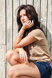 Portrait d'une jeune femme Images stock