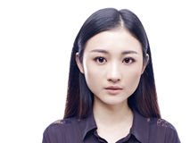 Portrait d'une jeune femme asiatique photographie stock libre de droits