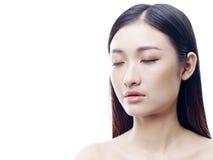 Portrait d'une jeune femme asiatique photos libres de droits
