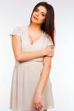 Portrait d'une jeune femme attirante Images stock