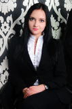 Portrait d'une jeune femme présentable Image libre de droits