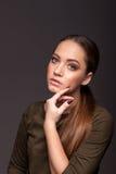 Portrait d'une jeune fille Photo stock