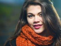 Portrait d'une jeune fille images stock