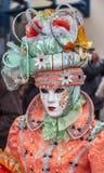 Portrait d'une personne déguisée Photographie stock libre de droits