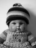 Portrait d'une poupée Photos stock