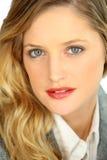 Portrait of dainty blonde Stock Photo