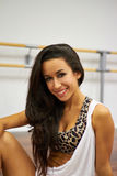 Portrait of dancer girl Royalty Free Stock Image