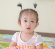 Portrait de bébé asiatique Images stock