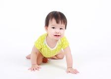 Portrait de bébé asiatique mignon Images libres de droits