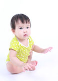 Portrait de bébé asiatique mignon Photographie stock libre de droits