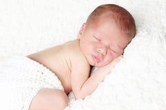 Portrait de bébé de Newbonr Photographie stock libre de droits
