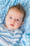 Portrait de bébé garçon Photographie stock