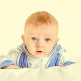 Portrait de bébé garçon Images libres de droits