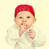 Portrait de bébé garçon photographie stock libre de droits