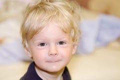 Portrait de bébé garçon Image libre de droits