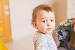 Portrait de bébé garçon mignon Photos libres de droits