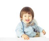 Portrait de bébé heureux Photos stock