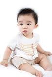 Portrait de bébé mignon asiatique Photos stock