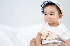 Portrait de bébé mignon asiatique de sourire Image libre de droits