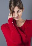 Portrait de beau mannequin femelle sexy pour la beauté photo stock