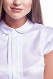 Portrait de beau mode de charme de mode de femme Photos stock