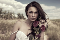 Portrait de beauté photos stock