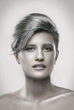 Portrait de beauté d'une fille sensuelle Photographie stock libre de droits