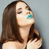 Portrait de beauté de fille d'adolescent Photographie stock libre de droits