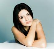 Portrait de beauté d'un jeune modèle femelle Images stock