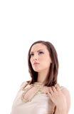 Portrait de belle dame Image stock