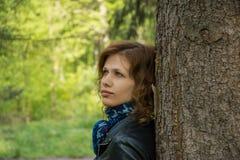 Portrait de belle jeune femme Image stock