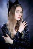 Portrait de belle personne royale majestueuse d'imagination de reine Image stock