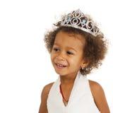 Portrait de belle petite fille heureuse images stock