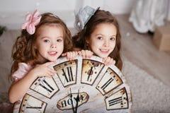 Portrait de belles petites filles photo libre de droits