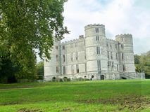 Portrait de château de Lulworth photos stock
