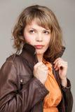 Portrait de charme de belle femme Photo libre de droits