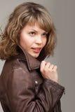 Portrait de charme de belle femme Photos stock