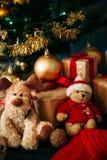 Portrait de conte de fées des jouets de Noël Images stock