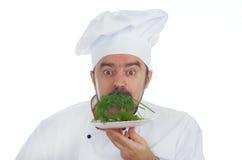 Portrait de cuisinier en chef Image libre de droits